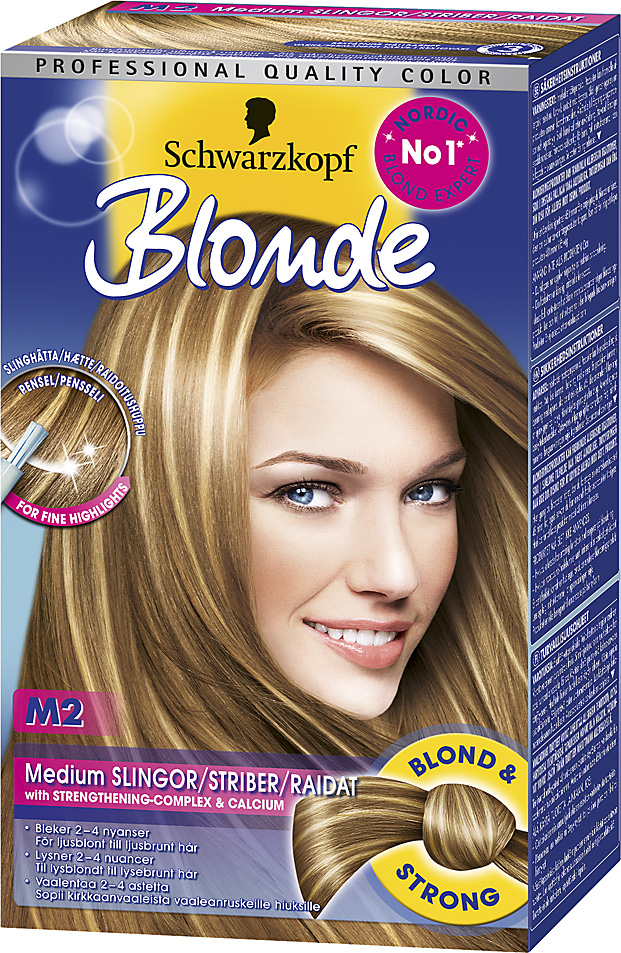 hårfarve lyse striber