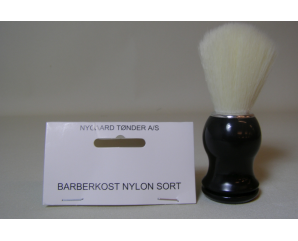Barberkost Nylon Sort