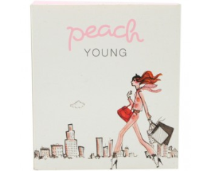 Peach Young Bind M/Vinger 2 Stk.