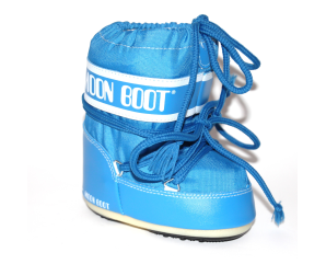 Mb Moon Boot Mini Nylon I Blå