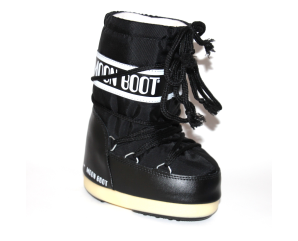 Moon Boot Nylon Støvle I Sort